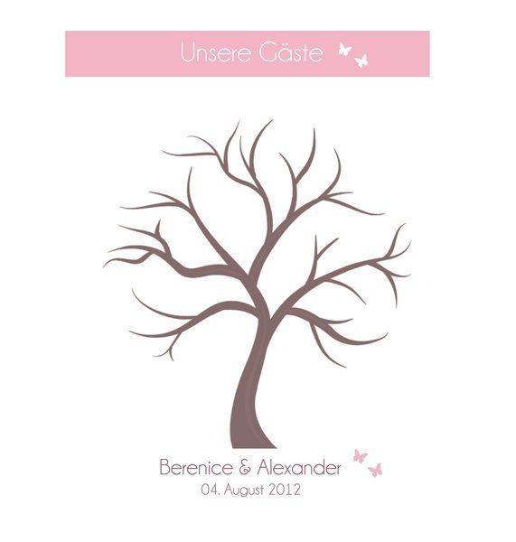 Wedding Tree als Gästebuch (PDF)