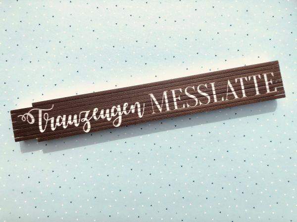 Geschenk Trauzeuge - Zollstock