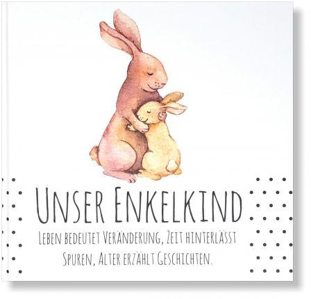 """Geschenkbuch """"Unser Enkelkind"""" Erinnerungsalbum für die besten Großeltern"""