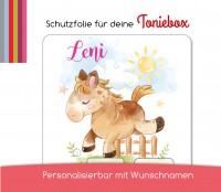 Schutzfolie passend für Toniebox, Pferde