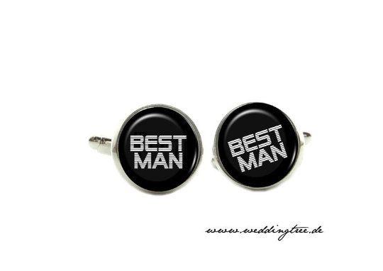 Manschettenknöpfe Best Man, Hochzeit, Hochzeitsaccessoires, Braut, Bräutigam, Geschenk Mann, Brautpa