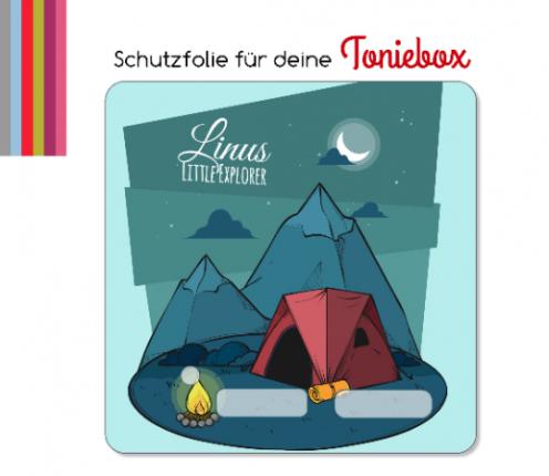 Schutzfolie passend für Toniebox, Litte Explorer
