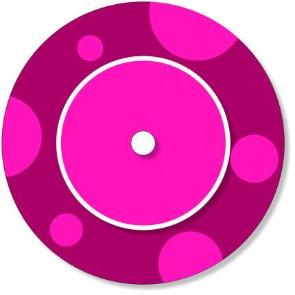 Ladestationsticker passend für die Toniebox - Beere / Pink