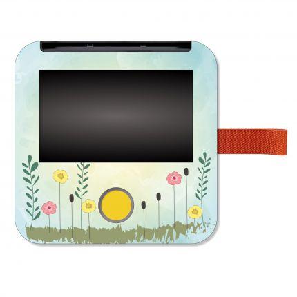 Schutzfolie passend für Tigerbox touch, Watercolor Blümchen