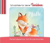 Schutzfolie passend für Toniebox, Fuchs und Hase