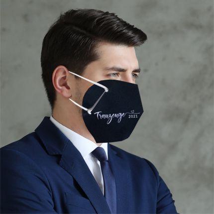 Cover-Up Masken für FFP2 zur Hochzeit Trauzeuge