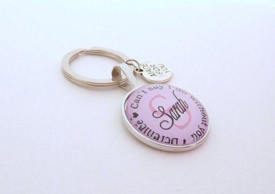 Geschenk Trauzeugin, personalisierter Schlüsselanhänger, Geschenk Freundin der Braut, Schlüsselanhän