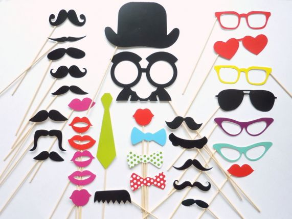 Photo Booth 32 Accessoires