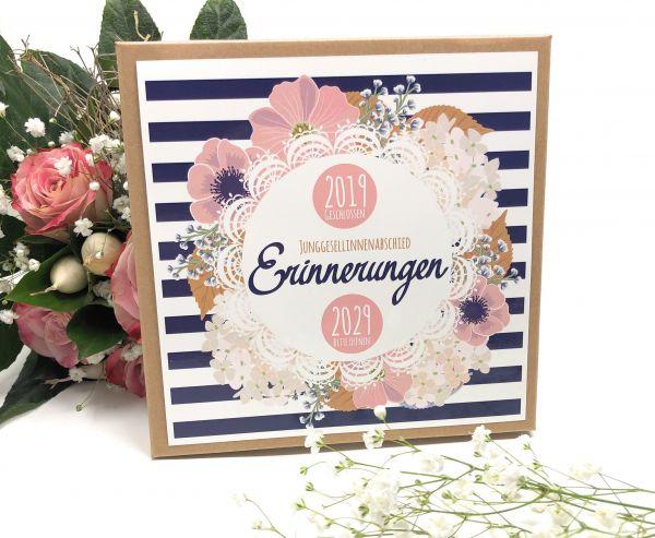 JGA Spiel Zeitreise - Junggesellinnenabschied - Geschenk für die Braut - Briefe in die Zukunft
