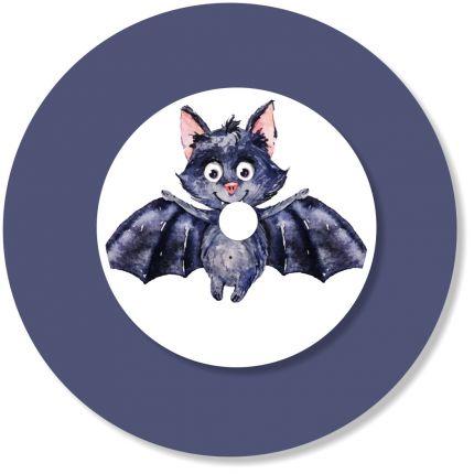 Ladestationsticker passend für die Toniebox - Fledermaus