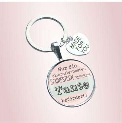 Schlüsselanhänger für die Tante